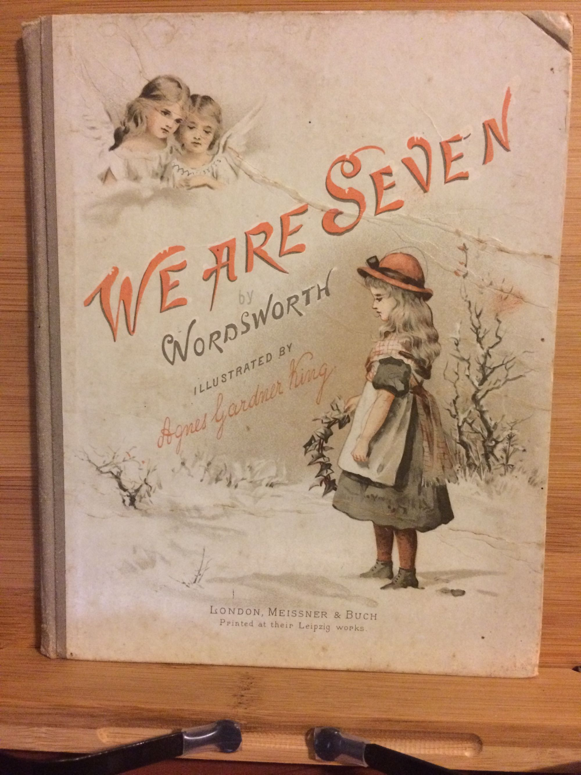 We Are Seven by Wordsworth illustrated by Agnes Gardner King