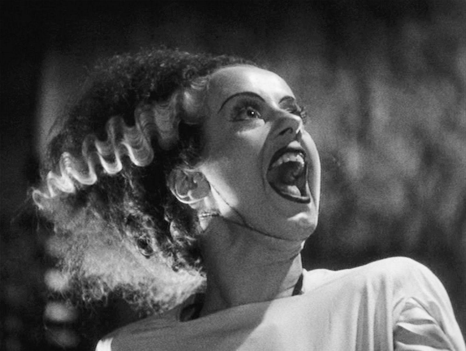 Bride of Frankenstein, played by Elsa Lanchester