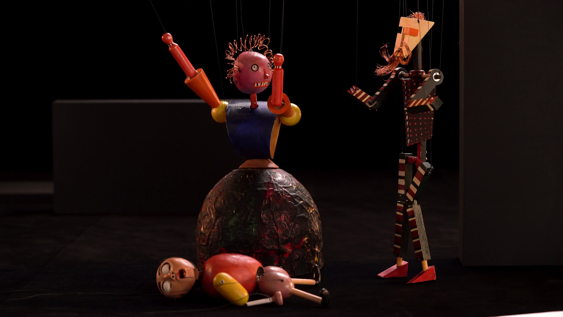 Bauhaus Marionette (photograph by Raphael Köhler)