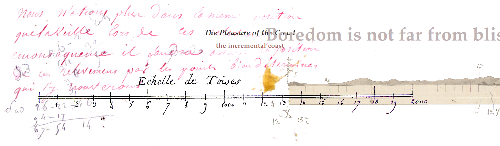 """the incremental coast"" in J. R. Carpenter's The Pleasure of the Coast"